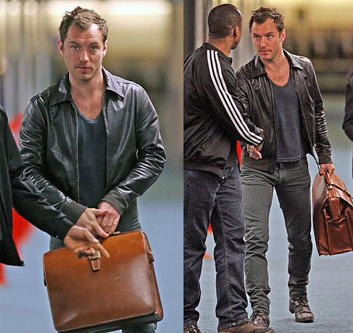 Jude Law Goes To Vancouver To Play Dr. Parnassus