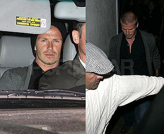 David Beckham One Man Night on the Town