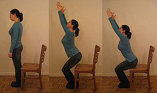 Chair Squat Exercise
