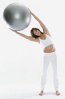 Side Bend Exercise With Exercise Ball
