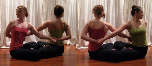 Seated Facing Twist