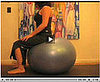 Get on the Ball:  Backbend