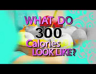 What Does 300 Calories Look Like?