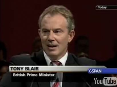 Tony Blair Covers the Clash