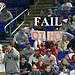 Basketball Game Sign: Fail