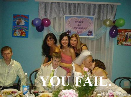 Bride Frenches Bridesmaid: Fail