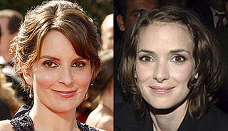Tina Fey and Winona Ryder Look Alike