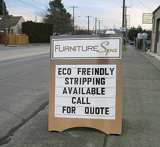 Eco-friendly Advertising