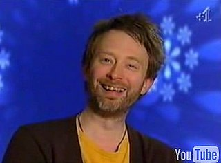 Thom Yorke Acts Weird on a Game Show