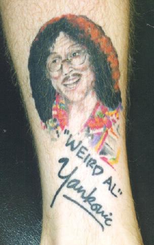 Weird Al Tatt