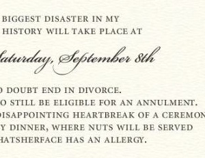 Mother-in-Law Sends a Wedding Invitation