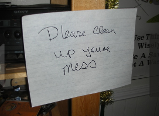 11 Passive-Aggressive Notes Left Around House
