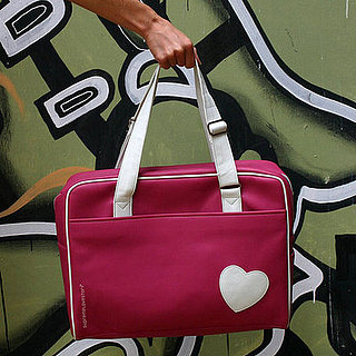 Pink Hearts Laptop Bag by SupremeLoveStory