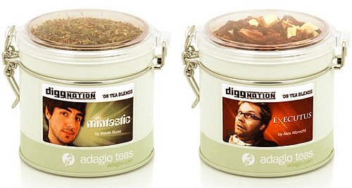 Digg it? Diggnation Hosts Make Custom Teas