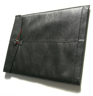 A Leather MacBook Air Sleeve?! Yowza