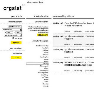 Website of the Day: Crgslst