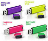 Pantone's Personalized Flash Drives