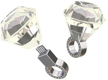USB Diamond Ring
