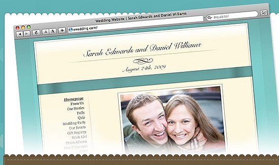 Wedding Website Geek Help