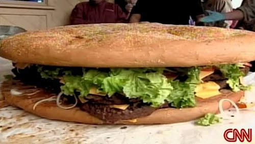 California Restaurant Creates a 222 Pound Cheeseburger