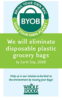 Whole Foods Bans Plastic Bags