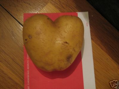 Bid on This: Heart-Shaped Potato on Ebay