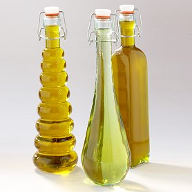 Decorative Oil and Vinegar Bottles