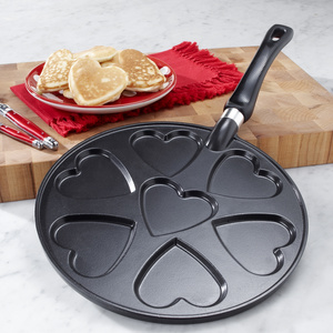 Heart-Shaped Pancake Griddle