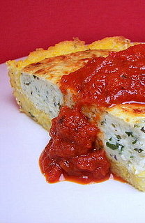 Yummy Link: Three-Cheese Polenta Pie