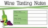 Download Our Wine Tasting Worksheet!