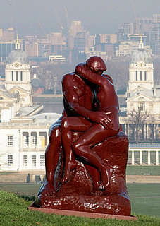 Rodin's The Kiss Recreated in Marmite