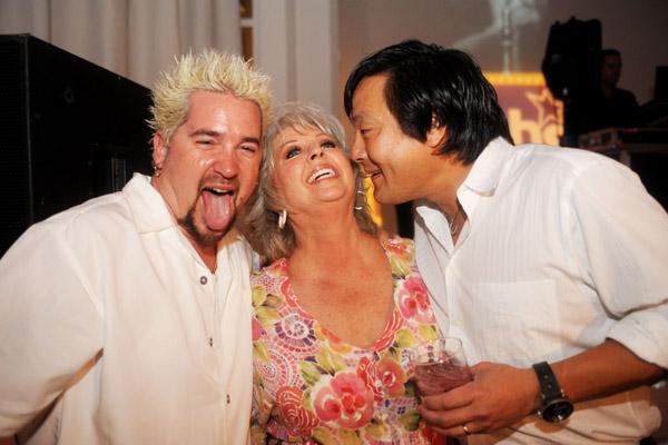 Guy Fieri, Paula Deen, Ming Tsai