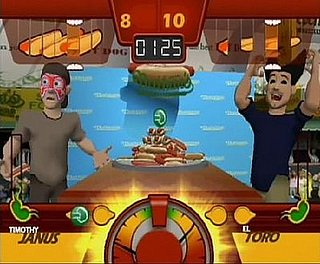 Get Your Eat On! Competitive Eating Game For the Wii