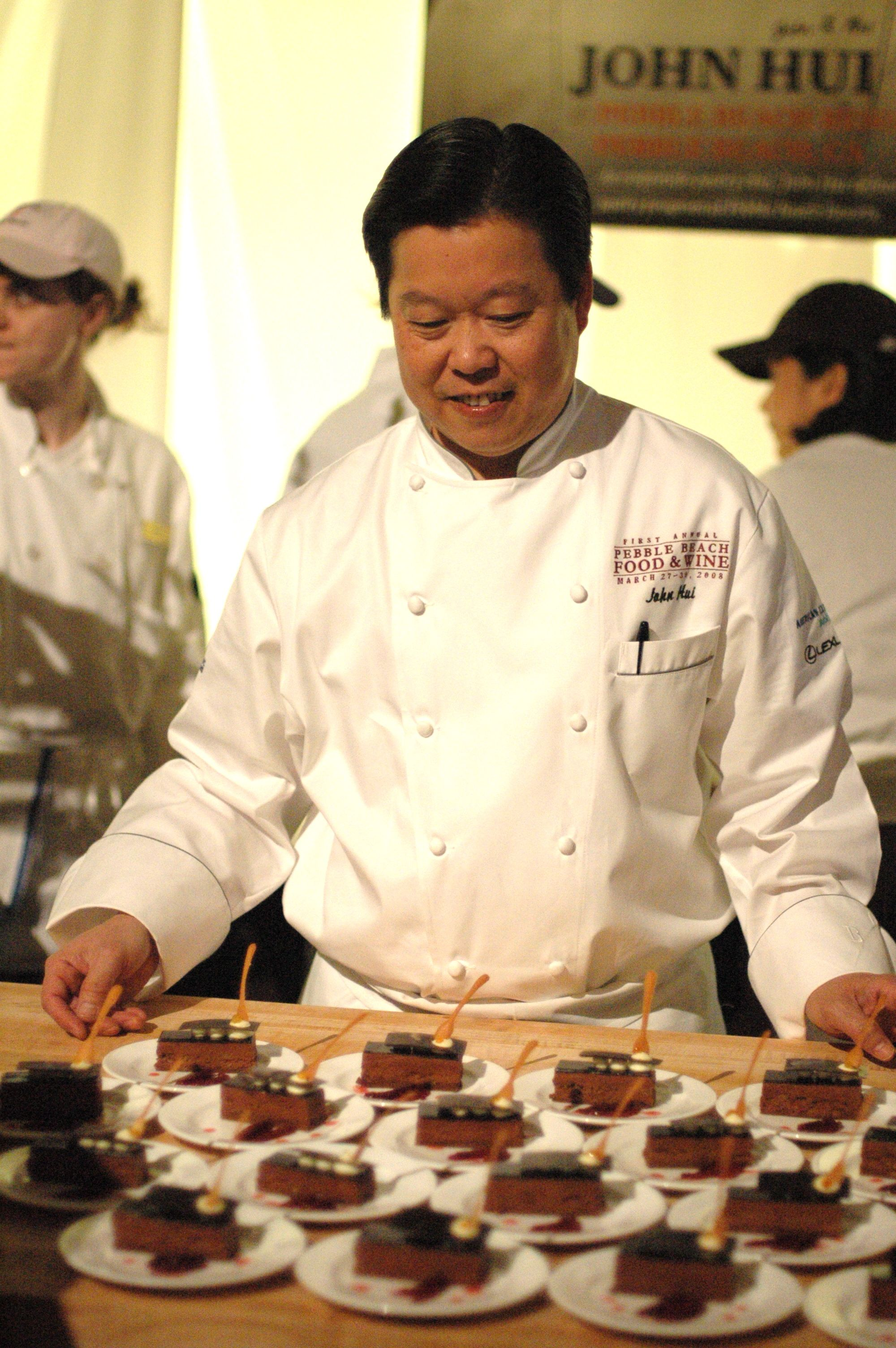 John Hui, Pastry Chef of Pebble Beach Resorts