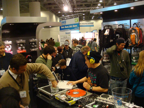 Skullcandy at Macworld