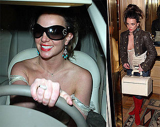 Britney Gets a Flat and Rides With a New Paparazzo Buddy