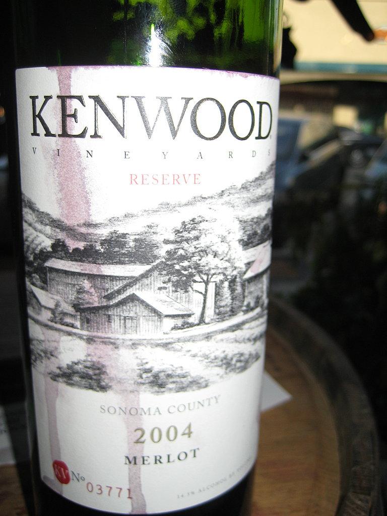 2004 Kenwood Reserve Merlot