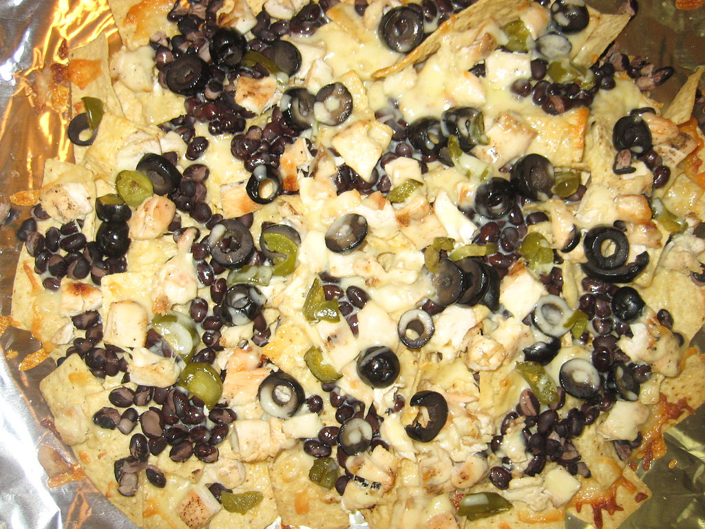 Black and White Nachos