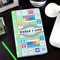 Where I Live Notebook ($13)