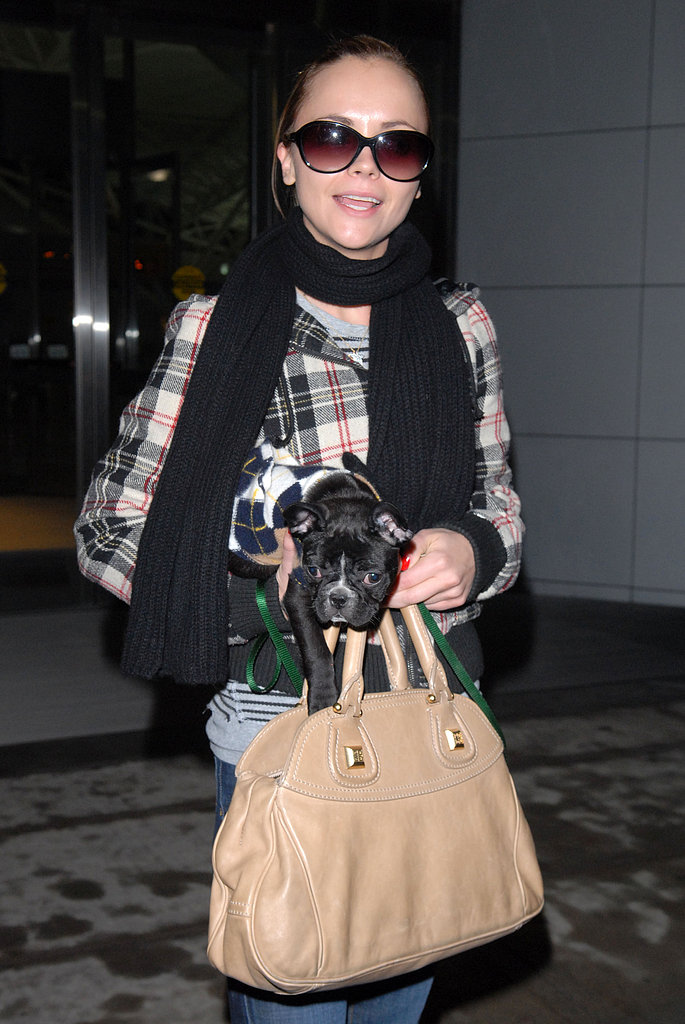 New Puppy Alert! Christina Ricci and Ramon