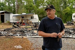 Headline: Katrina Victims Booted Out of FEMA Trailers