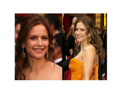 Kelly Preston at the Oscars: hair and makeup