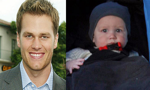 Mini Me: Tom Brady and John Moynahan