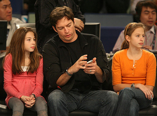 Mini Me: Harry Connick, Jr., Georgia and Sarah