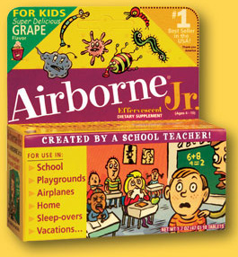 Mommy Alert! Airborne Is a Fraud