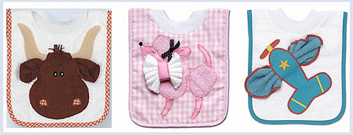 Mullins Square Bib and Washcloth Sets