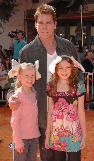 Ray Liotta took his daughter Karsen and her friend to the grand <b>Dr. Seuss Horton Hears a Who</b> event.