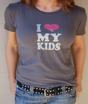 I Love My Kids Shirt