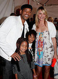 Will Smith and his kids strike a pose with pal Cameron Diaz.