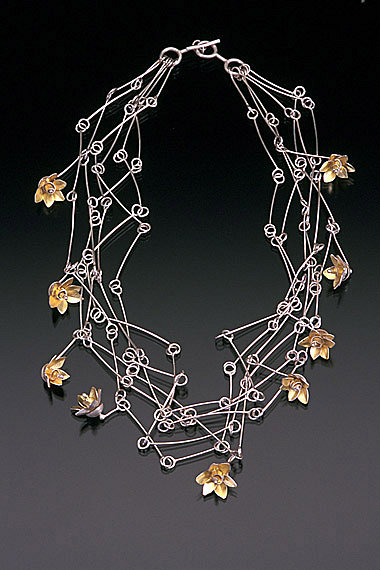 Sarah Hood, jewelry artist :: Jewelry :: Gold & Silver :: Nine Perfections